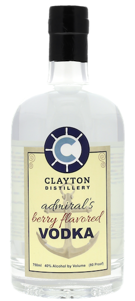 Admiral's Berry Flavored Vodka