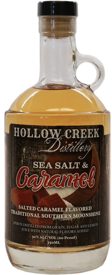 Sea Salt and Caramel Moonshine