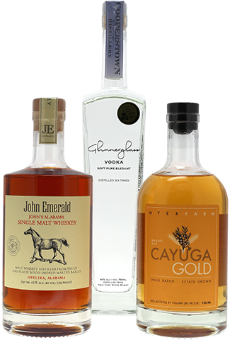 Award-winning craft spirits