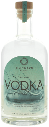 Organic Vodka - Rising Sun Distillery | BigFish Spirits