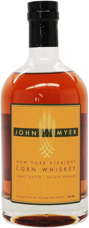 John Myer New York Straight Corn Whiskey