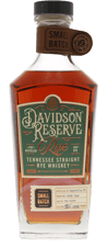 Davidson Reserve Tennessee Straight Rye Whiskey 750ml by Pennington Distilling Co.