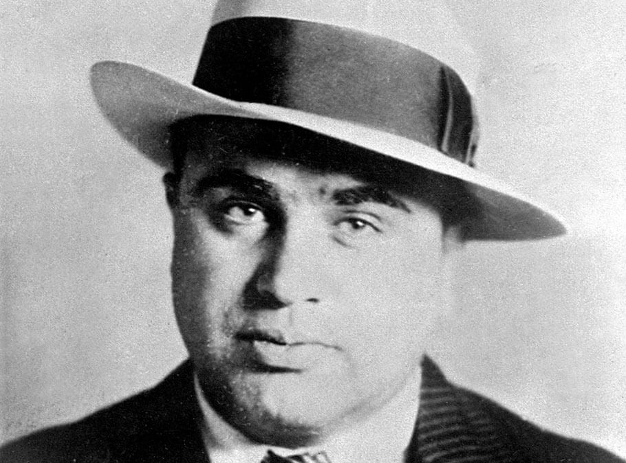 "Organized violence was on the increase. And at the center of it all was a Chicago mobster named Alphonse Gabriel ""Al"" Capone"
