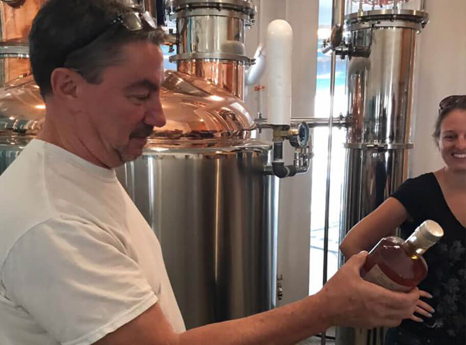 How this father-son team are making craft spirits together just outside of Washington, D.C.