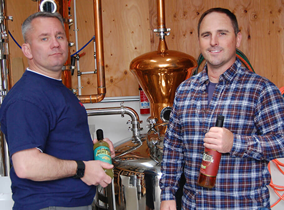 A craft distillery inspired by the work ethic and camaraderie of Seattle dock workers