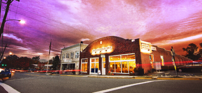 Catoctin Creek Distilling Co.'s shop and tasting room.