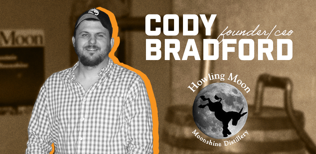 Cody Bradford, Founder, Owner and CEO at Howling Moon Distillery.